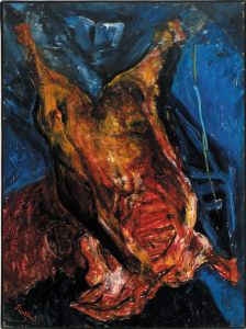 Chaim Soutine, Carcass of Beef, 1925
